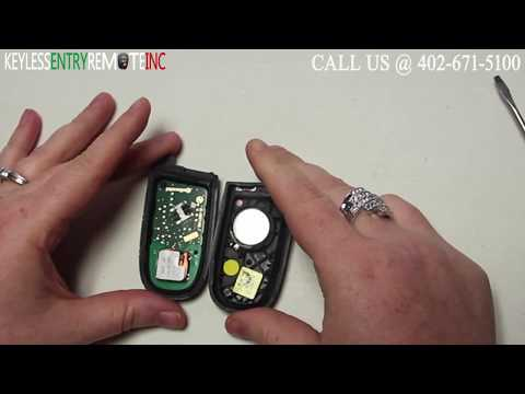 How To Replace Dodge Journey Key Fob Battery 2011 2012 2013