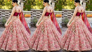 Latest Trend of Net Lehenga Designs 2019 - Party wear net lehenga Design