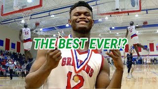 Zion Williamson Says GOODBYE! *Emotional* Senior Year Mix 😱