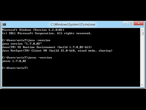 How to Run Java Program in Command Prompt in Windows 7/8