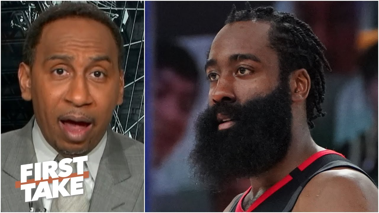 James Harden should want to play for the Nets over the 76ers - Stephen A. | First Take