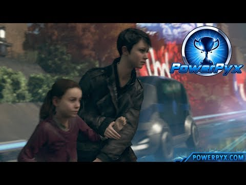 Detroit Become Human - RUN KARA RUN Trophy Guide (Kara and Alice escape the Police)