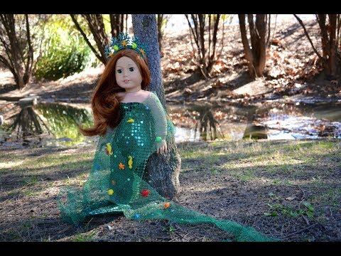 American Girl Doll Under the Sea Ocean Bedroom