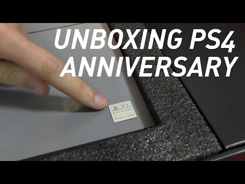Unboxing PlayStation 4 - 20th Anniversary Edition