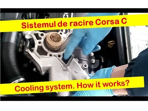 Racire motor Corsa  C -- Engine cooling circuit