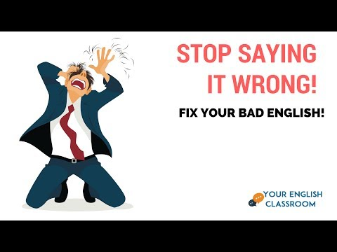 How To IMPROVE Your Pronunciation- 10 Mispronounced Words In English Pt 1