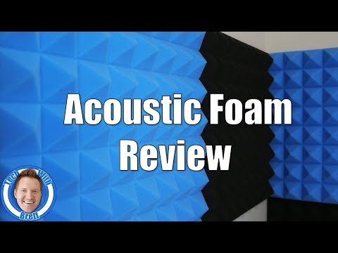 Remove Room Echo With Acoustic Foam | Arrowzoom Foam Review
