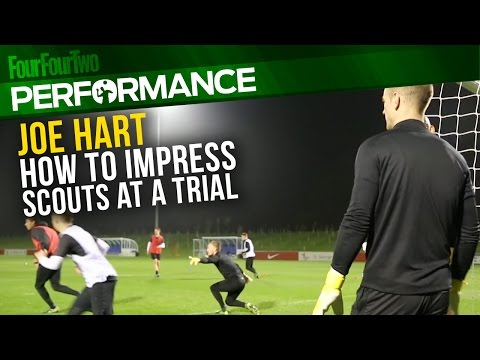 Joe Hart | How to impress at a trial | Pro level goalkeeping tips