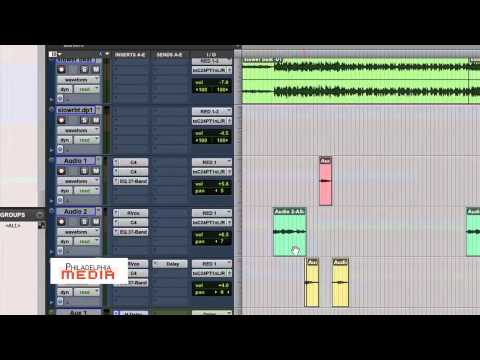 Pro Tools Production Tips - (Basics of Adding and Adjusting Delay)