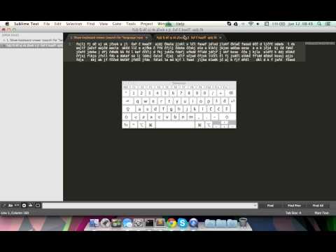 Learn to type with ten fingers on any mac keyboard layout