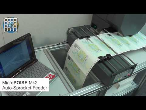 MicroPOISE Mk2 Auto-Sprocket Feeder Demo