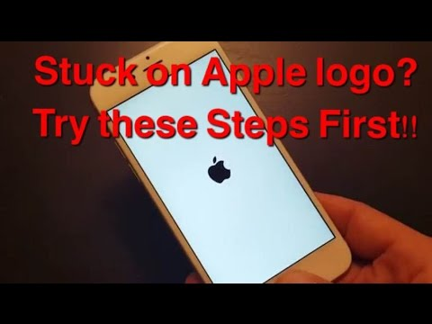 STUCK ON APPLE LOGO? IPHONES, IPADS, IPODS | Try These Steps First!!!