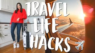 Download My Top 22 Travel Life Hacks & Tips! | Jeanine Amapola Video