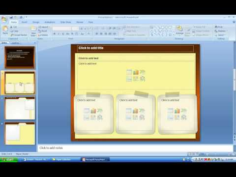 How to save a PPT file as a PowerPoint template