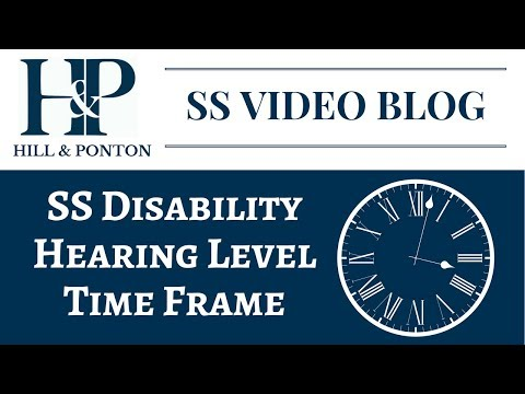 SS Hearing Level  - Time Frame