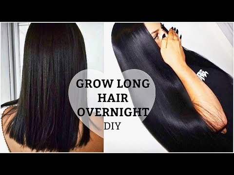 HOW TO GROW LONGER THICKER HAIR Naturally +  Fast |  DIY Growth Treatment + Secrets (100% Works)