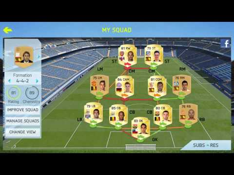 Improve fut 15 team chemistry with my advise!!!
