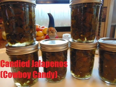 Candied Jalapenos Cowboy Candy