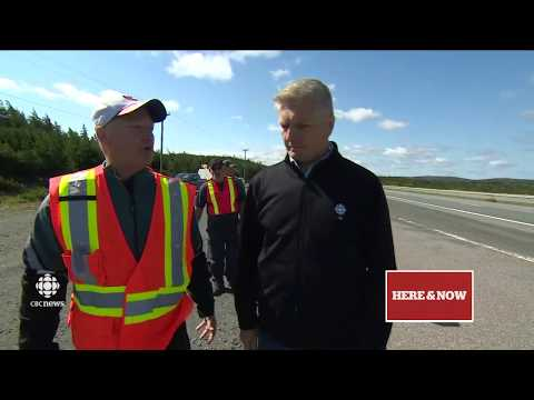 CBC NL Here & Now Tuesday 5 September 2017