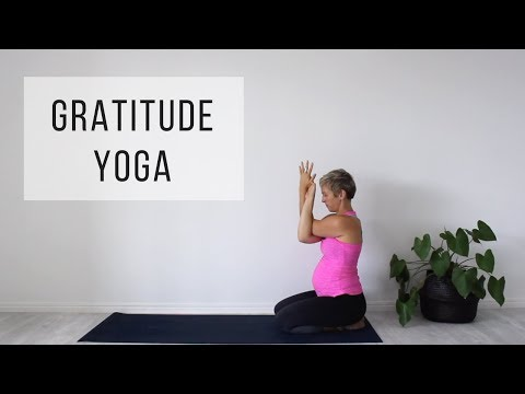 Gratitude Yoga to get out of a bad mood (suitable for pregnancy)