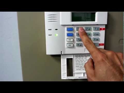 How to change your master code on a Honeywell security system