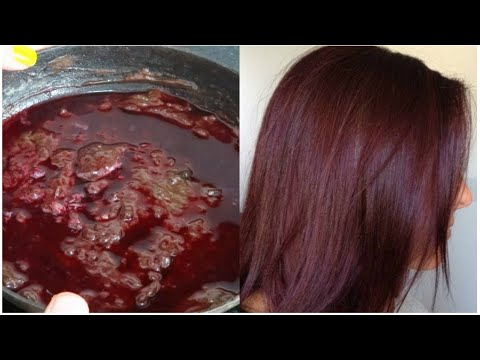 How To Colour Your Hair Naturally At Home - 100 % Natural hair colour at HOME