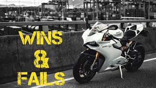 Motorcycle Wins And Fails Compilation