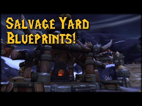 [Warlords] The Salvage Yard! Blueprints Location!