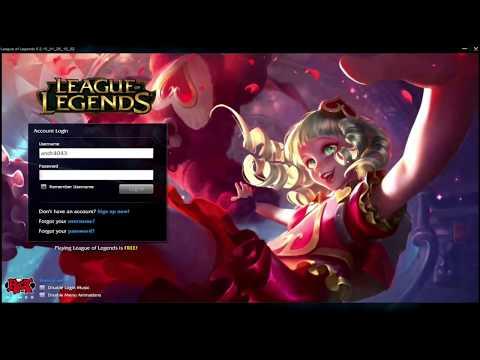 Sweetheart Annie - Custom Login Screen League of Legends