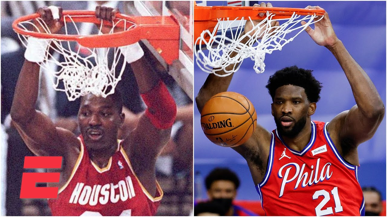 JWill breaks down what makes Joel Embiid 'so scary' and compares him to Hakeem Olajuwon   KJZ