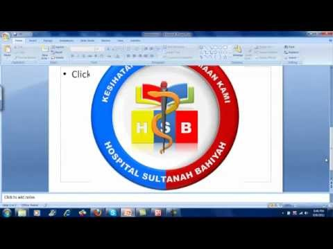 Powerpoint Tutorial Drawing Logo
