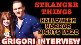 Stranger Things Interview & Horror Nights Maze | Andrey Ivchenko | Grigori
