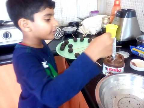 How to make Oreo Nutella popsicles for kids part 6