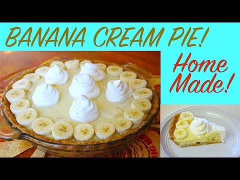 Home Made Banana Cream Pie Recipe!