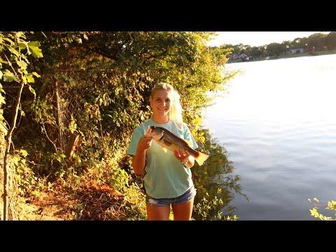 VLOG! Girlfriend slays bass in Virginia Beach!