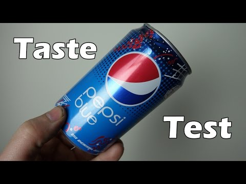 Pepsi Blue Taste Test and Review