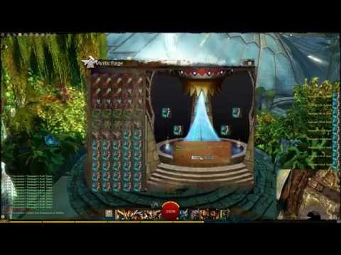 1000+ rare (and some exotic) Greatswords in the Mystic Forge (Guild Wars 2)