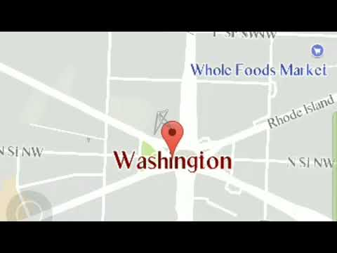 Washington white house inside exposed | googleearth new feature