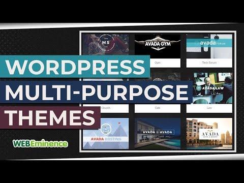 WordPress MultiPurpose Themes - Do NOT Overlook Them