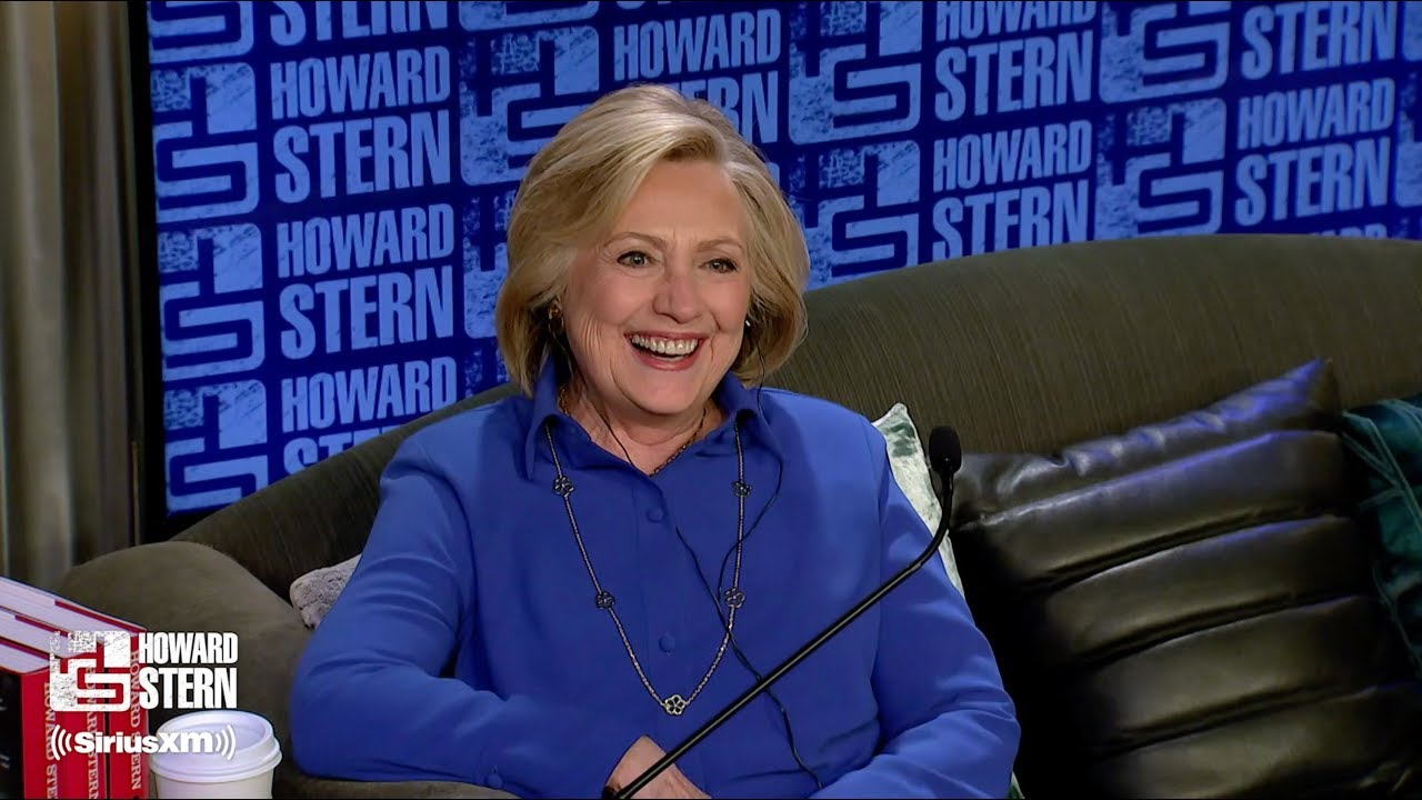 Hillary Clinton on the Howard Stern Show Pt. 1