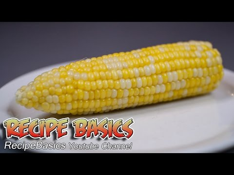 Easy Microwave Corn On The Cob Recipe - NO SHUCKING !