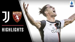 Juventus 4-1 Torino | Ronaldo Nets First Serie A Free Kick In Derby Win! | Serie A Highlights