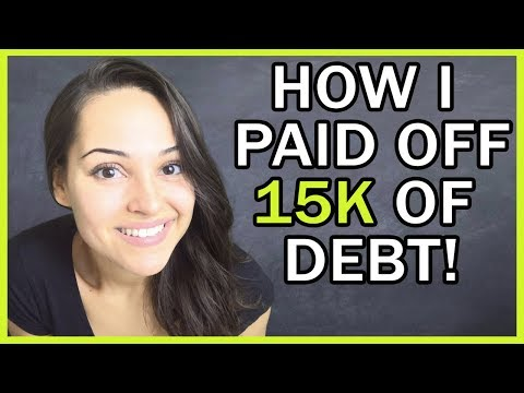How I Paid Off $15,000 Of Debt