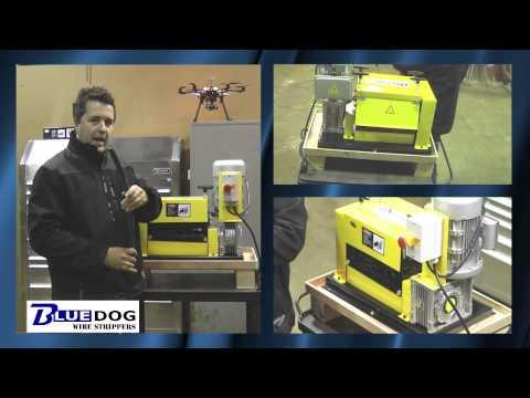 Wire Stripping Machine Bluedog BWS 50 Multi Feed