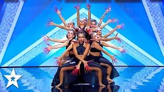 SPECTACULAR Dance Group Get GOLDEN BUZZER on Got Talent Italia | Got Talent Global