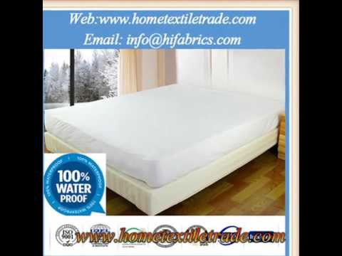 New Hypoallergenic Bamboo Cool Waterproof Mattress Protector