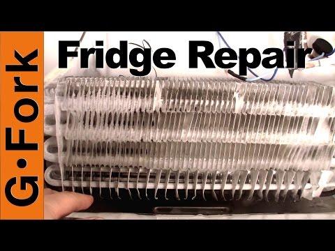 Refrigerator Repair - Freezer Coils Frozen - Refrigerator Is Warm - GardenFork