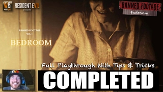 Bedroom Puzzle Solution | Resident Evil 7 Banned Footage DLC | Full Playthrough & Walkthrough Tips