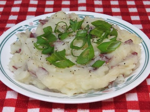 How to Make Healthy Mashed Potatoes~Easy Low-Fat Recipe