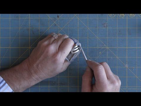 The Making of Silver Spoon Jewelry: FORK RING